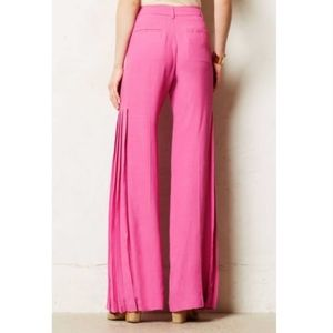 Elevenses Cinematheque Wide-Legs Pants Pink